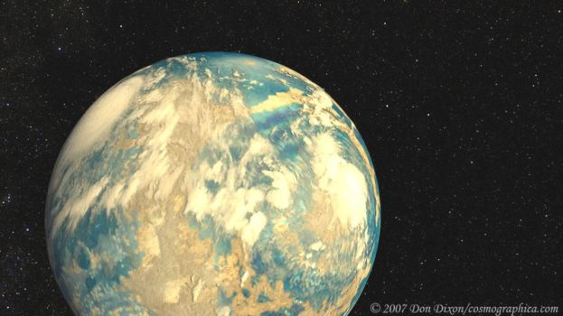 Planet Gliese581c