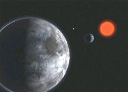 Planet di Luar Tatasurya, Gliese581C mengorbit Bintang Kerdil.