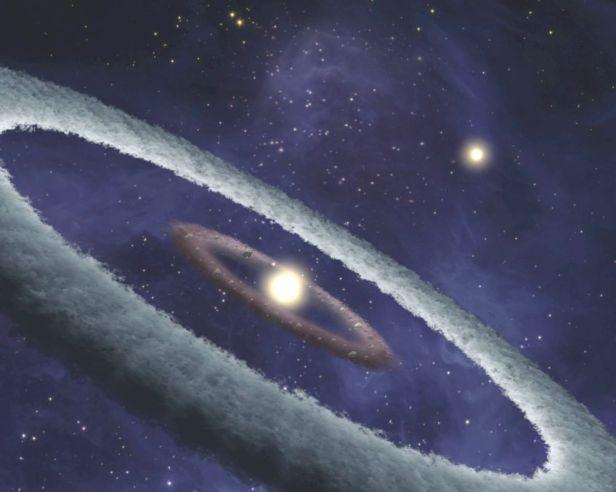 Setelah bintang terbentuk, lalu seperti inilah awal terbentuknya planet-planet