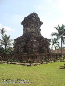 Candi Singhasari dibangun sebagai tempat pemuliaan Kertanegara, raja terakhir Singhasari.