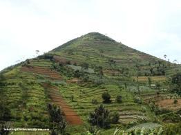 Gunung Sadahurip, Kabupaten Garut, West Java.