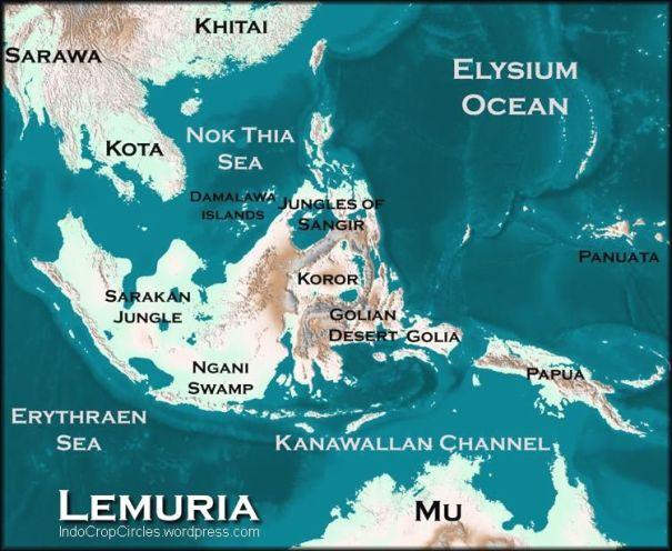 Geografi Indonesia pada masa lalu