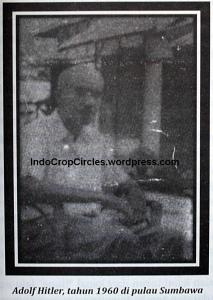 Adolf Hitler tahun 1960 di pulau Sumbawa
