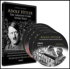 "Set DVD dokumetasi ""Adolf Hitler The Greatest Story Never Told"" yang mengguncang dunia!"