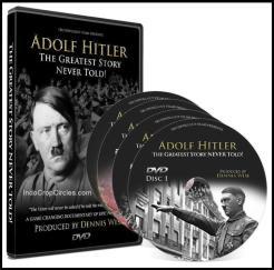 "Set DVD dokumetasi ""Adolf Hitler The Greatest Story Never Told"" yang mengguncang dunia!"
