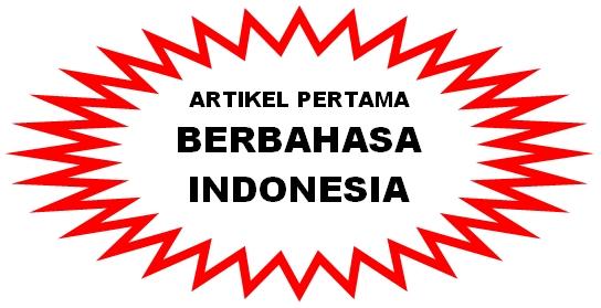 artikel pertama berbahasa-indonesia
