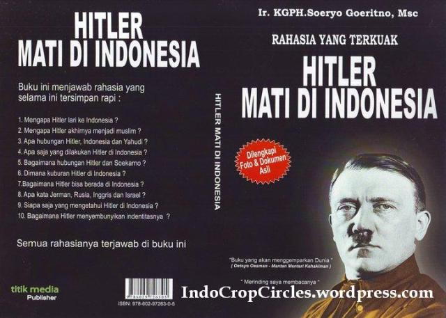 buku hitler mati di indonesia banyak bukti di dalam buku ini