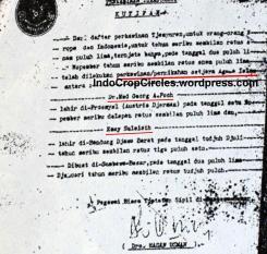 Surat nikah dr Poch a.k.a. Hitler yang menikahi Sulaesih wanita asal Bandung secara Islam di KUA Sumbawa.
