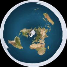 Bentuk Bumi oleh Earth-flatter ...