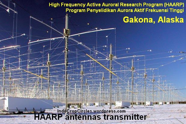 HAARP antenna transmitter