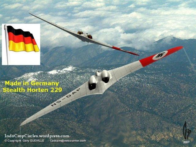 horten 229 ho 229 pesawat bomber anti radar buatan nazi german dibuat pada tahun 1944
