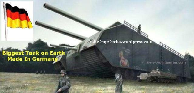 p1000 landkreuzer ratte tank terbesar di dunia buatan nazi german