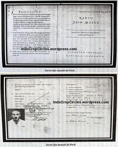 Surat Izin Masuk dr Poch ke Indonesia (imigrasi)