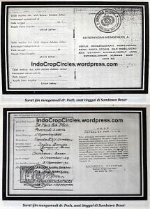Surat Izin Mengemudi dr Poch saat tinggal di Sumbawa Besar