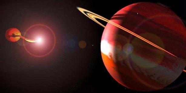Tata surya teraneh Dua Planet Raksasa Mengelilingi Bintang Ganda