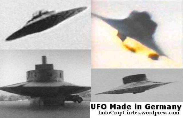 teknologi mirip u f o berupa piring yg dapat terbang sudah dibuat oleh nazi german pada perang dunia ii