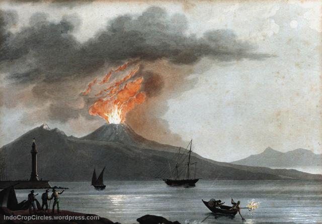 gunung api volcano