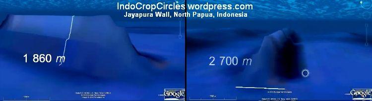 Jayapura Indonesia  city photos gallery : Jayapura walls Indonesia, tinggi 1,86 km dan lebar 2,7 km Courtesy ...