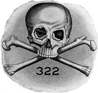 Skull and Bones Yale symbol