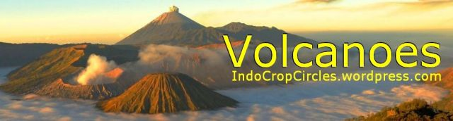Volcano in Indonesia