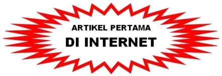 ARTIKEL PERTAMA DI INTERNET