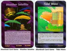 Illuminati Card Game - Weather Satellite tidal wave