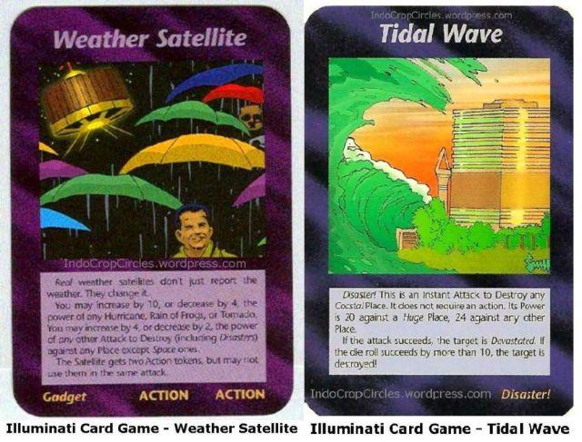 Illuminati Card Game - Weather Satellite tidal wave