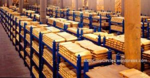 Emas di Bank Central