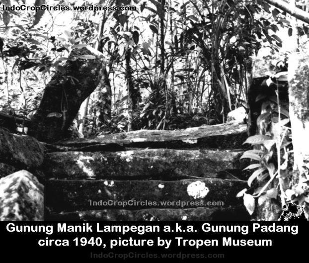 gunung padang Tropen Museum 1940