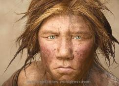 Neanderthal (ilustrasi)