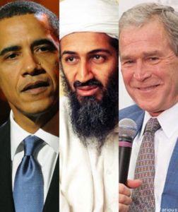 Obama, Osama, Bush.