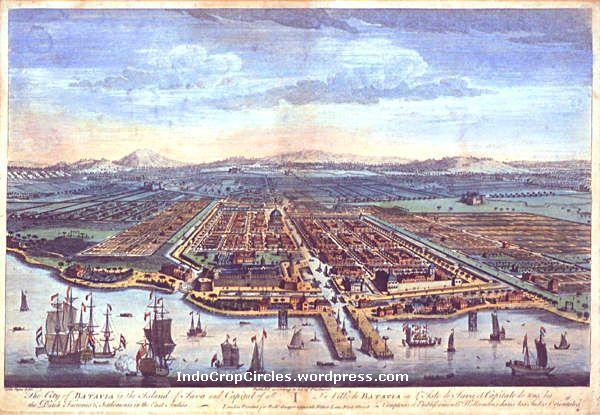 The Old City of Batavia circa 1780