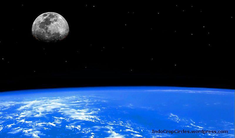 Contoh Gambar Satelit Alam