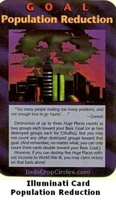Illuminati Card - Population Reduction
