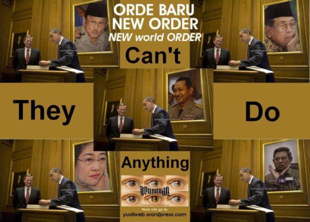 Setelah Soeharto memimpin, mereka semua tak bisa lagi berbuat banyak untuk rakyat dan negaranya...