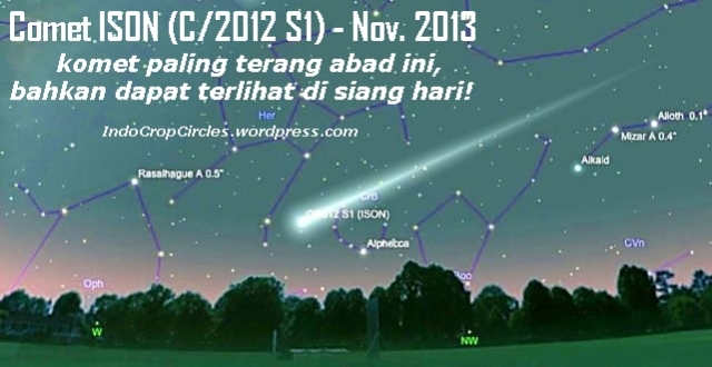 komet comet ISON-18th-Dec-5pm
