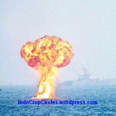 bomb nuklir bawah laut