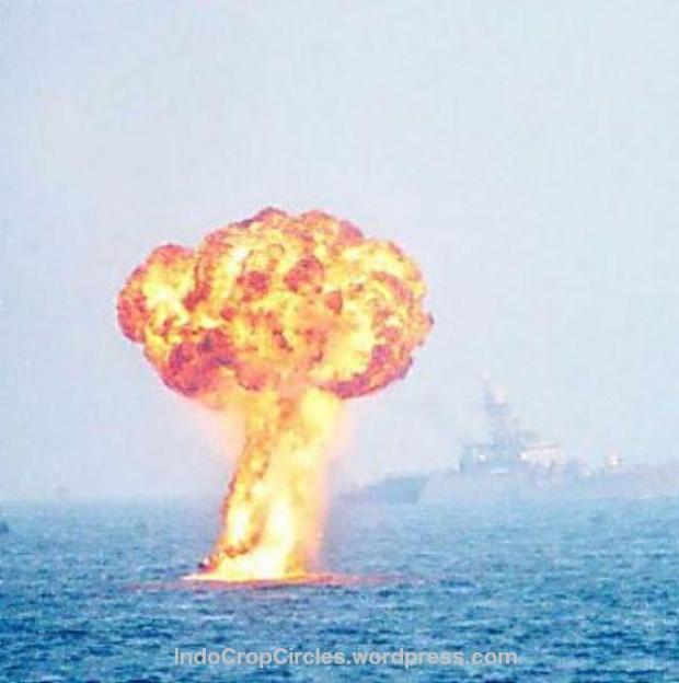 gempa Yogya Jogha bomb bawah laut