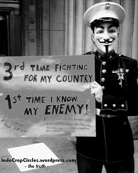 Anonymous fight enemy