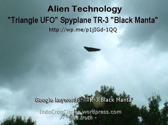 tr-3 b - black manta