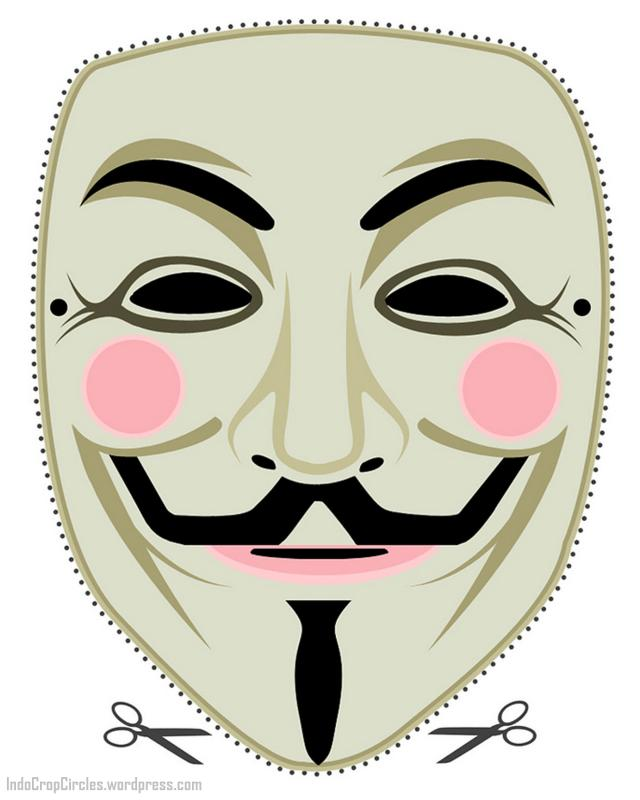 "Cara Membuat Topeng ""Guy Fawkes"" Anonymous 