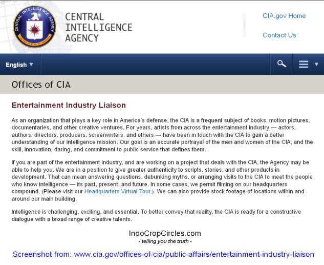 CIA WEB industri hiburan