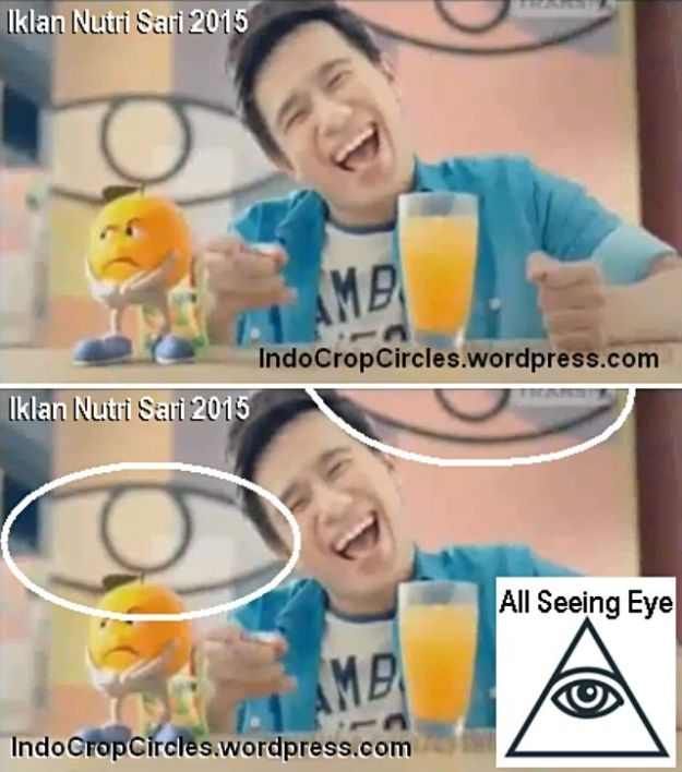 iklan nutri sari illuminati all seeing eye