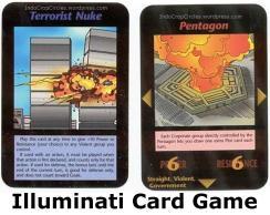 illuminati card game terrorist nuke pentagon