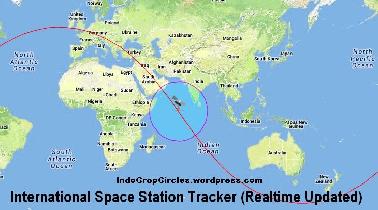 Living Spaces Tracking : ISS TRACKER / International Space Station Tracker LIVE ...