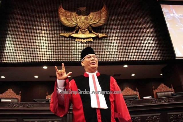Ketua MK Akil Mochtar illuminati sengketa Pilkada Kab Gunung Mas, KaliTeng