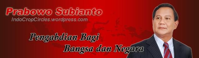 Prabowo Subianto banner
