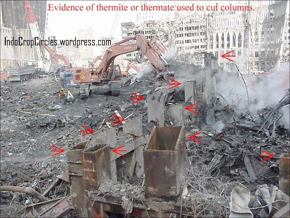 Bom dan ' Thermite ' Runtuhkan WTC,