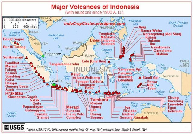 Volcanos Gunung Api di Indonesia