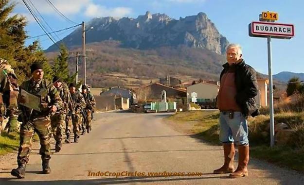 Untuk menghindari hal-hal yang tak diinginkan, pemerintah daerah menurunkan aparat keamanan di Gunung Pic de Bugarach, Perancis akibat menyangkut isu kiamat Desember 2012.Gunung Pic de Bugarach, Perancis dijaga aparat keamanan